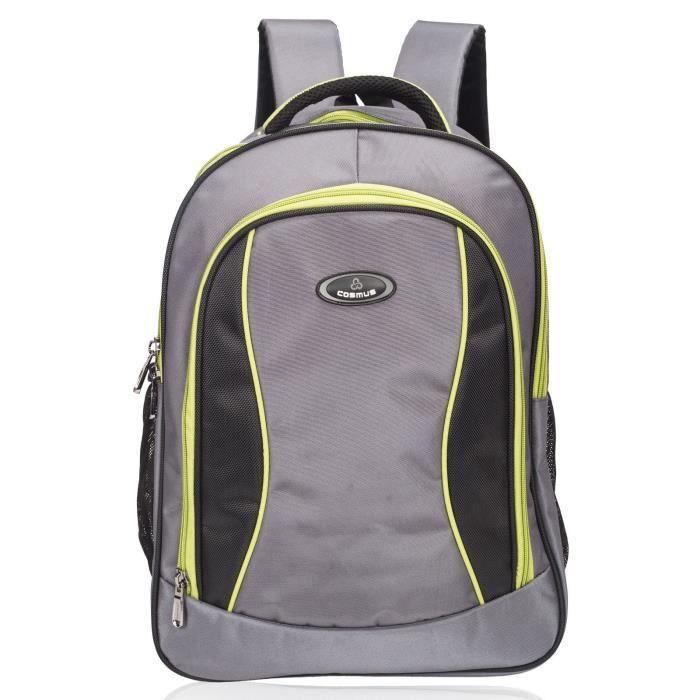 sac décole pour homme - sac à dos edwin grande école pour la classe 6 à la classe 10 - 37 litres - 3 compartiments LTGY0