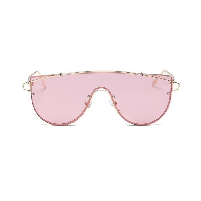 1330 H Lunettes rose Vintage An miroir lunettes Aviator Femmes de soleil mode de objectif Retro Hommes unisexe 6dHwRHPq