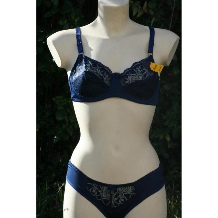 Ensemble lingerie soutien-gorge 100D + culotte - Achat   Vente ... b7390c33ee9