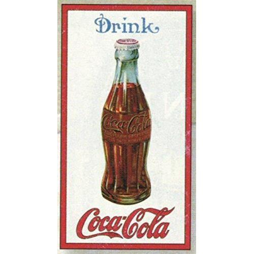 PLAQUE METAL PUB DRINK COCA COLA BOUTEILLE - Achat / Vente objet ...