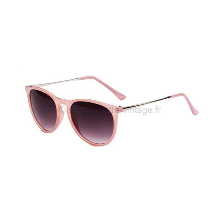 5a60e3e3ac1ac2 Lunettes Ronde Rose Branches Métal Rose - Achat   Vente lunettes de ...
