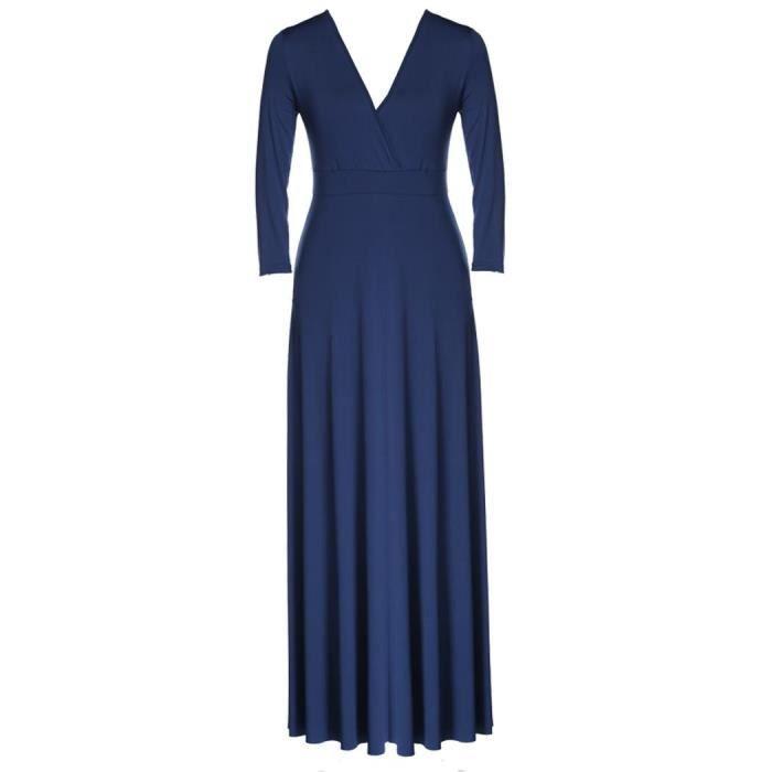 Robe longue soirée robe élégantpour femmes