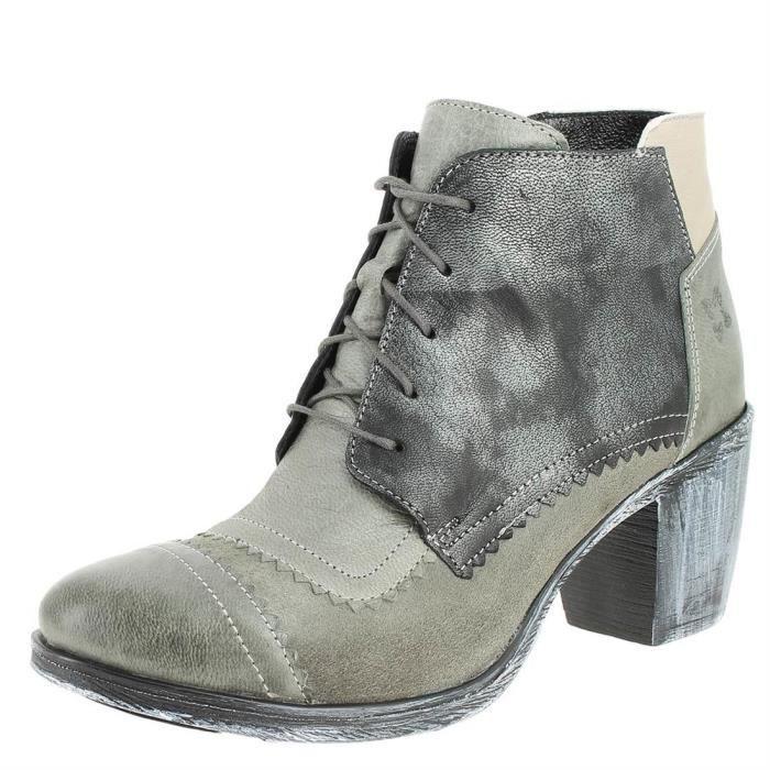 Maciejka 03098 gris - Chaussures Bottine Femme