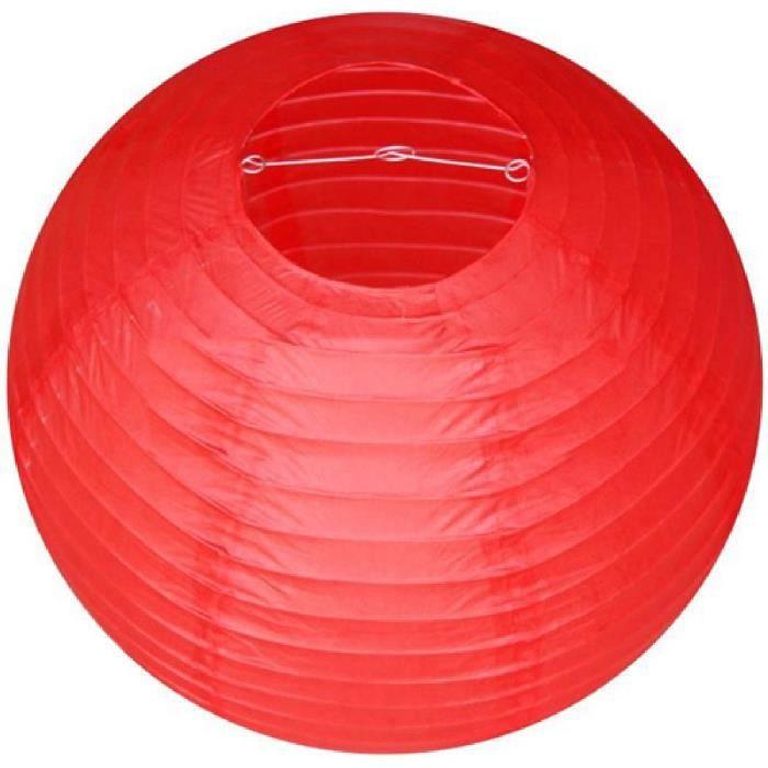 lampion papier rouge achat vente lampion papier rouge pas cher cdiscount. Black Bedroom Furniture Sets. Home Design Ideas