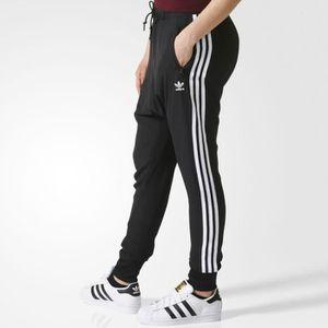 ... PANTALON DE SPORT Pantalon Chiffon Noir Femme Adidas ...