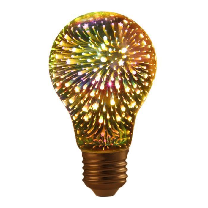 Decor Ampoule Led E27 Scène Feu Lampe Design 4734 Light Coloré D'artifice 3d Creative 4qf4wHI