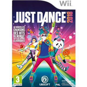 JEU WII Just Dance 2018 Jeu Wii
