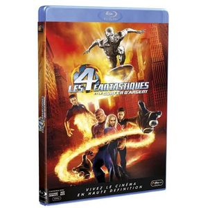 DVD FILM Blu-Ray Les 4 fantastiques et le surfer d'argent