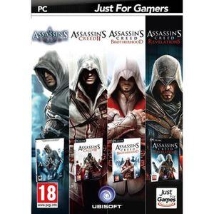 JEU PC Quadruple pack Assassin's Creed Jeu PC