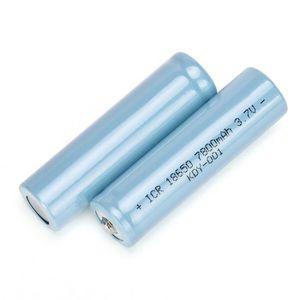 Batterie Pile 3 7v Rechargeable Pour Lampe De Poche Achat Vente