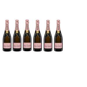 CHAMPAGNE Lot de 6 Champagnes Moët & Chandon Impérial Rosé 7
