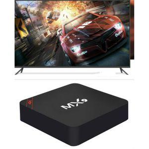 BOX MULTIMEDIA Lecteur HDTV MX9 set-top box 4 core  lecteur résea