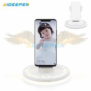 CHARGEUR TÉLÉPHONE Chargeur rapide sans fil Angel Wings 10w pour Huaw