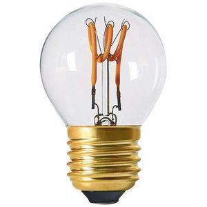 AMPOULE - LED Sphérique G45 filament LED 3 loops 3W E27 2200K 12