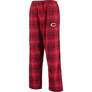 5c52ff393234 PANTALON Pantalons Cincinnati Reds Flanelle hommes - Rouge