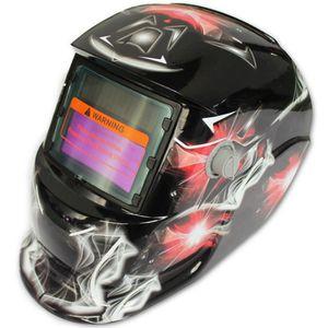 2da444374b4f75 LUNETTE - VISIÈRE CHANTIER 2018 Nouveau masque de soudeur solaire Pro Casque