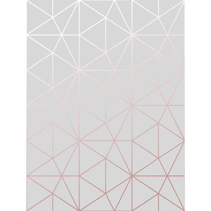 Prisme de métro Triangle géométrique Fond d\'écran gris et or rose ...