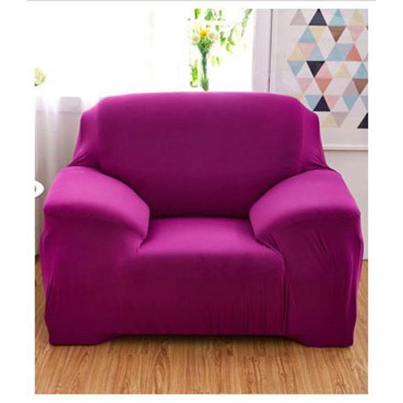 housse de fauteuil canap 1 place clic clac extensible pour seule personne d coration du maison