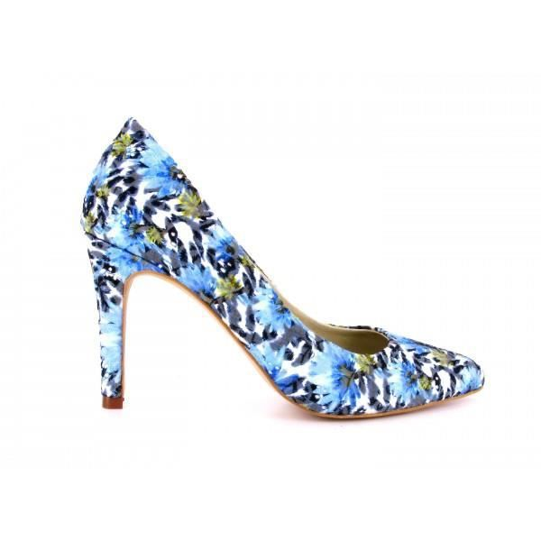 Escarpin Loca Lova chaussure bleu INOUBLIABLE BIGAS- Couleur - Bleu