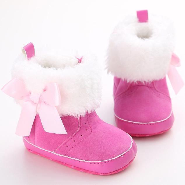 bébé garder des bottes à semelle souple chaud d... qpLktC