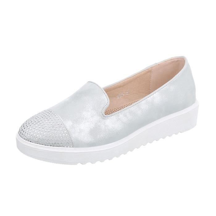 neurs La Chaussures Argent Fl Femme Or Babouche 41 nataw6EpHx