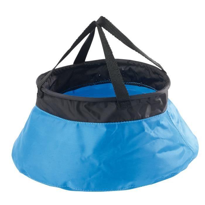 VAISSELLE CAMPING Seau de camping pliable en nylon - 5 L