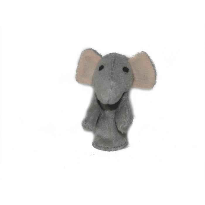 marionnette doigt animaux sauvages l phant achat vente th tre marionnette cdiscount. Black Bedroom Furniture Sets. Home Design Ideas