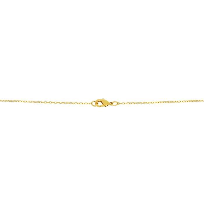 Collier CLEOR Plaqué Or Oxyde