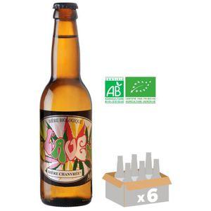 BIÈRE MELUSINE A l'Aven Bière Ambrée BIO - 33 cl x6 - 5