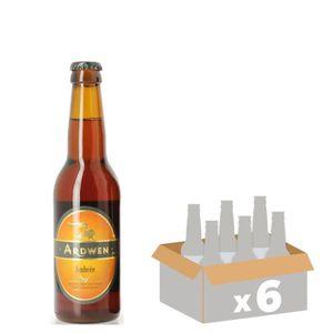 BIÈRE ARDWEN Bière Ambrée - 6x 33 cl - 6,5 %