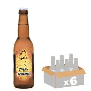 BIÈRE BOURGANEL PALEO Bière Blonde - 6x 33 cl - 5 %