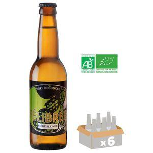 BIÈRE MELUSINE FELIBREE Bière Blonde Bio - 33 cl x6 - 5