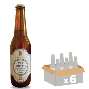 BIÈRE BRASSERIE ABBAZIA Tre Fontane - Bière Blonde - Tri