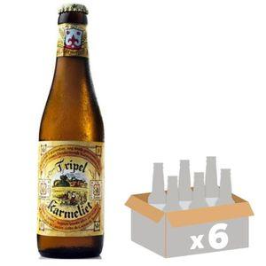 BIÈRE BRASSERIE BOSTEELS Karmeliet Tripel Bière Blonde -