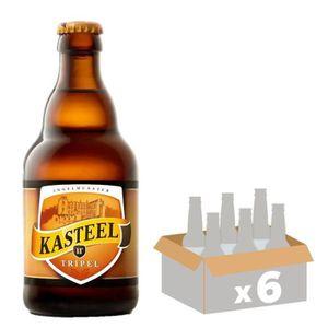 BIÈRE KASTEEL Tripel Bière Blonde - 33 cl x6 - 11 %