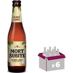 BIÈRE MORT SUBITE Bière blonde lambic - 33 cl x 6