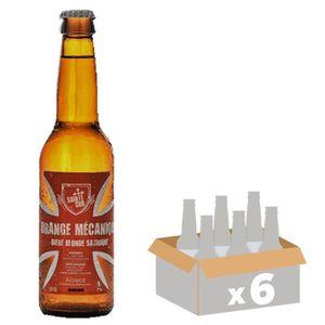 BIÈRE SAINTE CRU Orange Mécanique Bière Blonde - 33 cl x