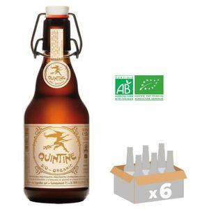 BIÈRE BRASSERIE DES LEGENDES Quintine Organic BIO Bière