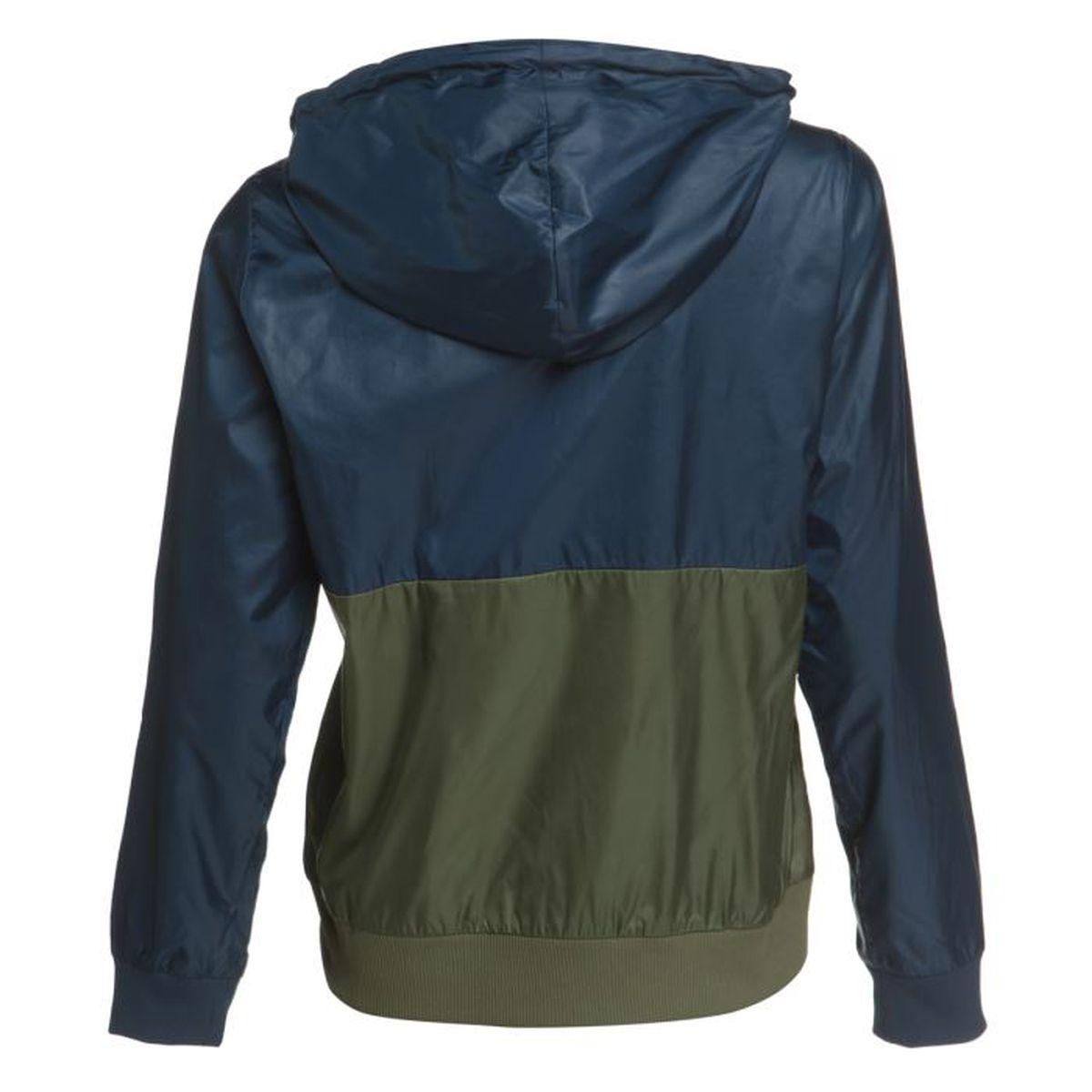 ADIDAS ORIGINALS Veste Zippée Femme Bleu et vert - Achat   Vente veste de  sport - Soldes  dès le 9 janvier ! Cdiscount ffa7df2a5027