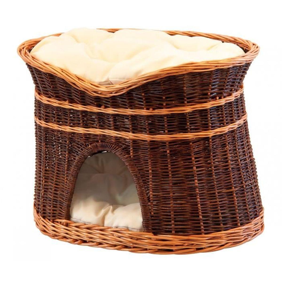 panier en osier pour chat achat vente panier en osier pour chat pas cher cdiscount. Black Bedroom Furniture Sets. Home Design Ideas