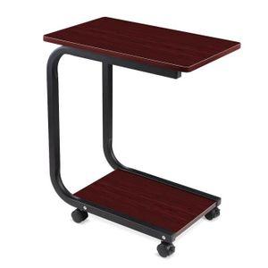 Petite table a roulette achat vente petite table a for Petite table ordinateur