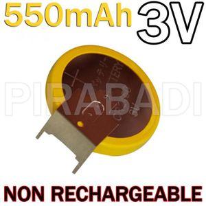 CHARGEUR DE PILES PILE BATTERIE CR2450 LIR2450 550mAh 3V Limno2 A PA