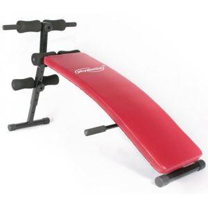 BANC DE MUSCULATION Banc de musculation pliable abdominaux sport fitne