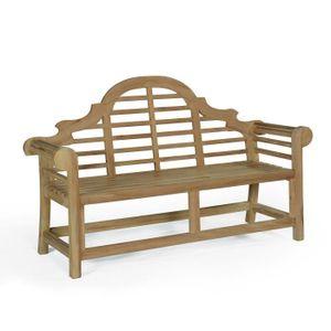 banc en teck achat vente banc en teck pas cher soldes d s le 10 janvier cdiscount. Black Bedroom Furniture Sets. Home Design Ideas