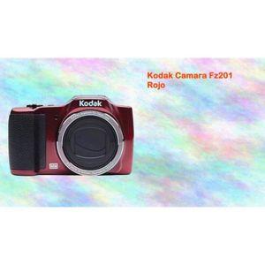 APPAREIL PHOTO COMPACT KODAK CAMERA FZ201 RED