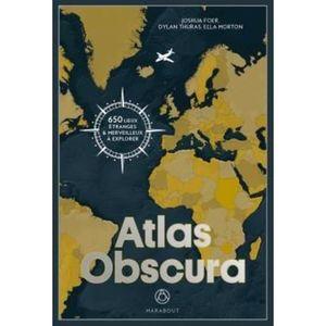 LIVRE GÉOGRAPHIE Livre - atlas obscura