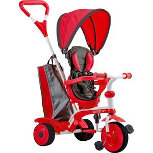 TRICYCLE STROLLY - Tricycle Evolutif Strolly Spin - Rouge
