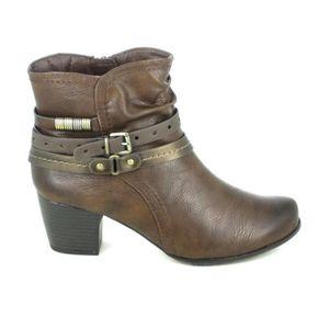 BOTTE Botte et bottine JANA Boots 25304 Marron