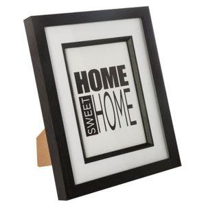 cadre photo paris noir et blanc achat vente pas cher. Black Bedroom Furniture Sets. Home Design Ideas
