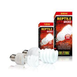 ÉCLAIRAGE REPTILE UVB 200 ampoule 13 W